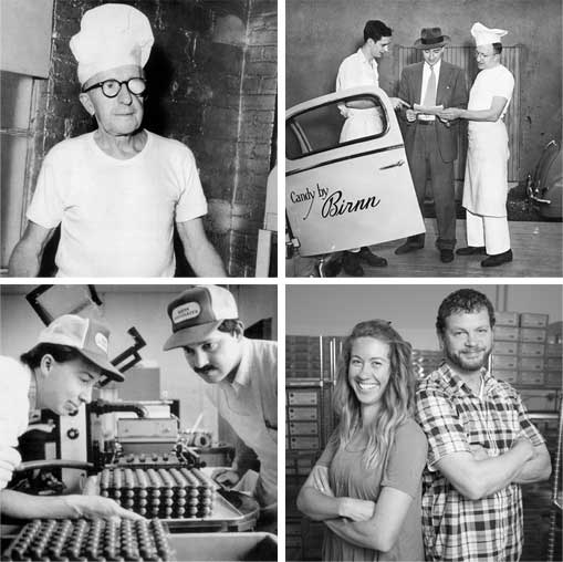 Birnn Chocolates History
